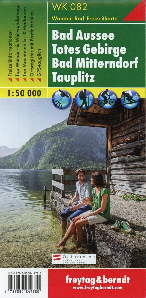 Bad Aussee, Totes Gebirge, Bad Mitterndorf, Tauplitz 1 : 50 000. WK 082 als Blätter und Karten
