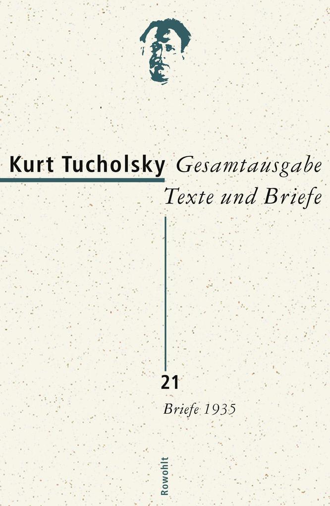 Gesamtausgabe 21. Briefe 1935 als Buch (gebunden)