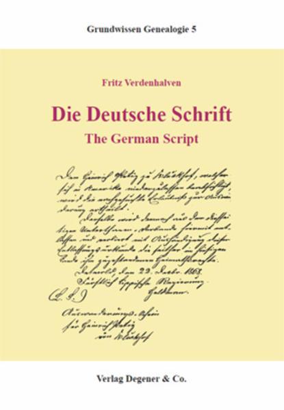 Die deutsche Schrift als Buch (kartoniert)