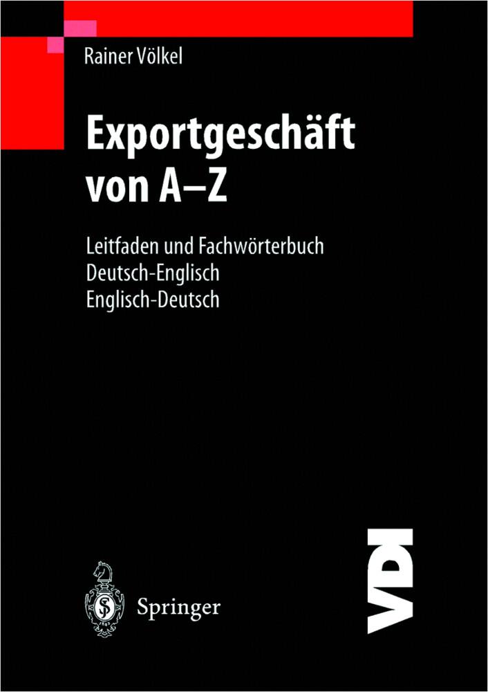 Exportgeschäft von A-Z als Buch (kartoniert)