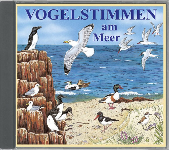 Vogelstimmen am Meer,Ed.6 als Hörbuch CD