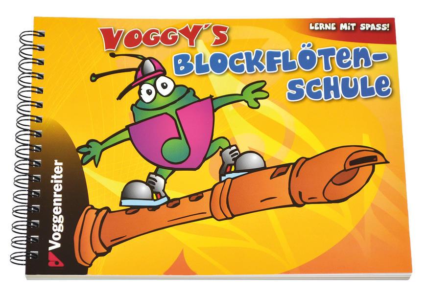 Voggys Blockflötenschule als Buch (kartoniert)