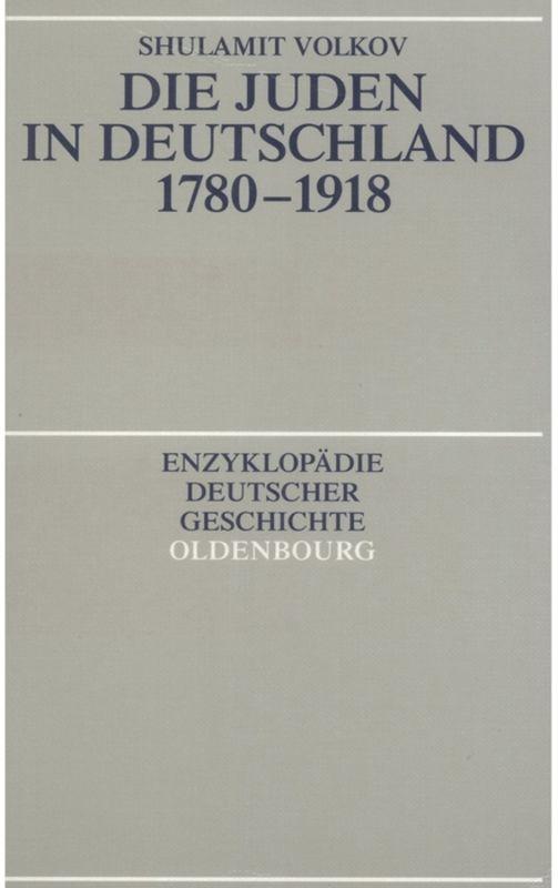 Die Juden in Deutschland 1780-1918 als Buch (kartoniert)