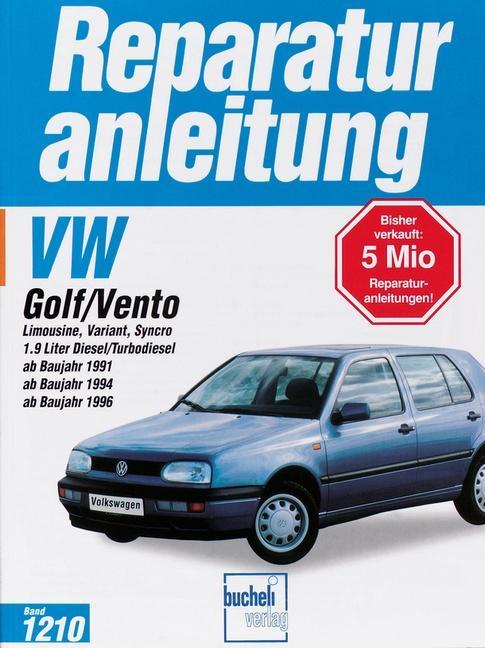 Volkswagen Golf und Vento ab Baujahr 1991 als Buch (kartoniert)