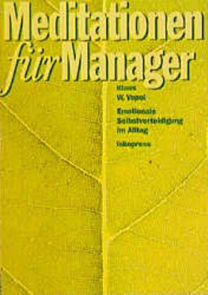 Meditationen für Manager als Buch (kartoniert)