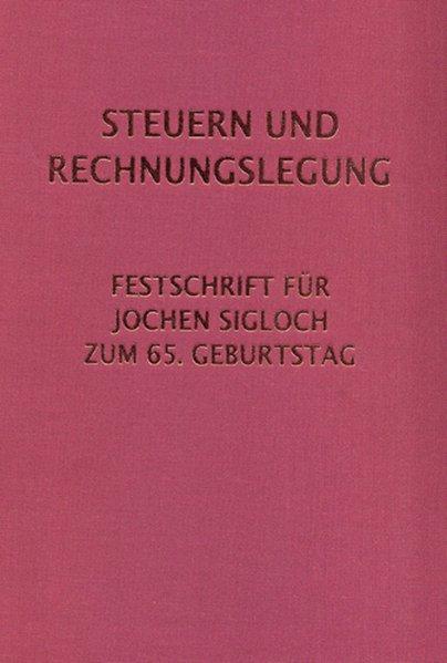 Steuern und Rechnungslegung als Buch (gebunden)