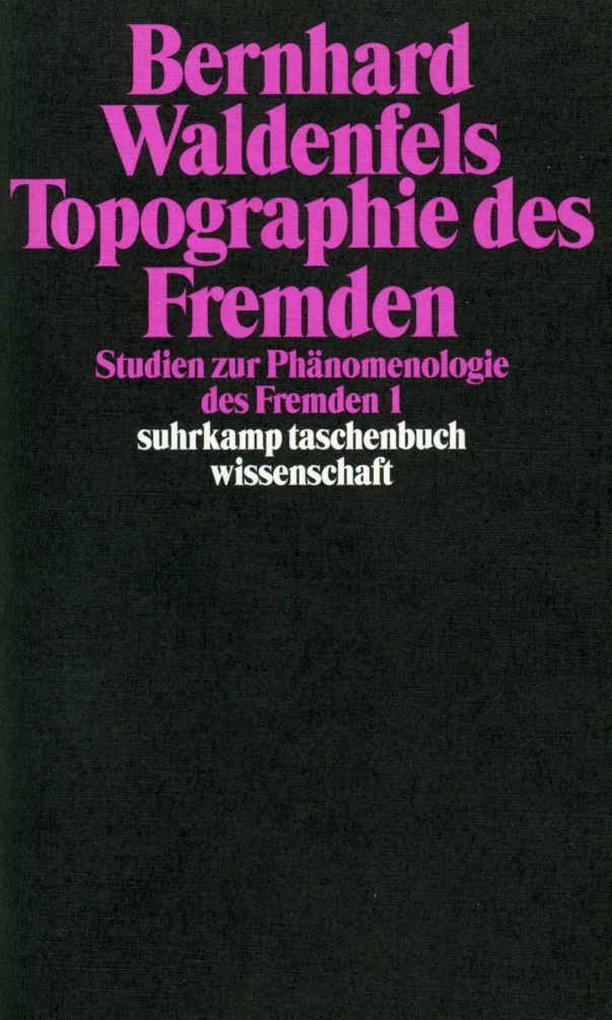 Topographie des Fremden als Taschenbuch