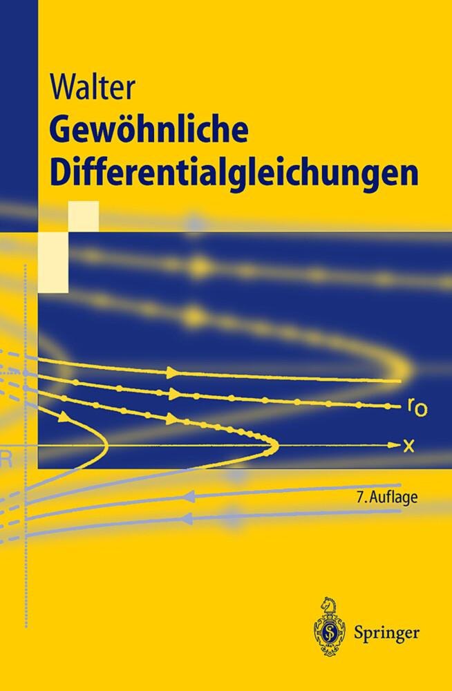 Gewöhnliche Differentialgleichungen als Buch (kartoniert)