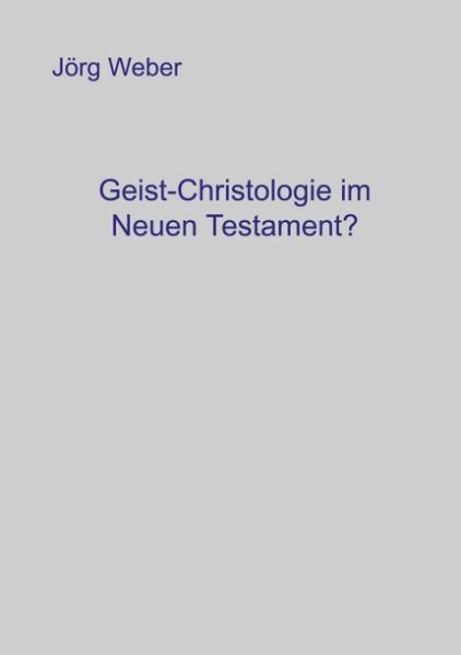 Geist - Christologie im neuen Testament? als Buch (gebunden)