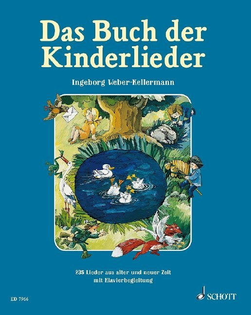 Das Buch der Kinderlieder als Buch (gebunden)