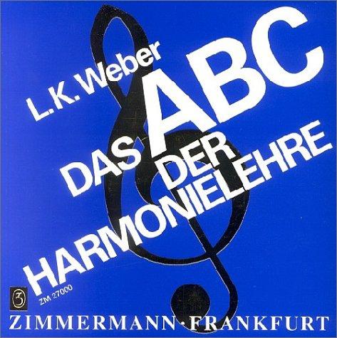 Das ABC der Harmonielehre als Buch (kartoniert)