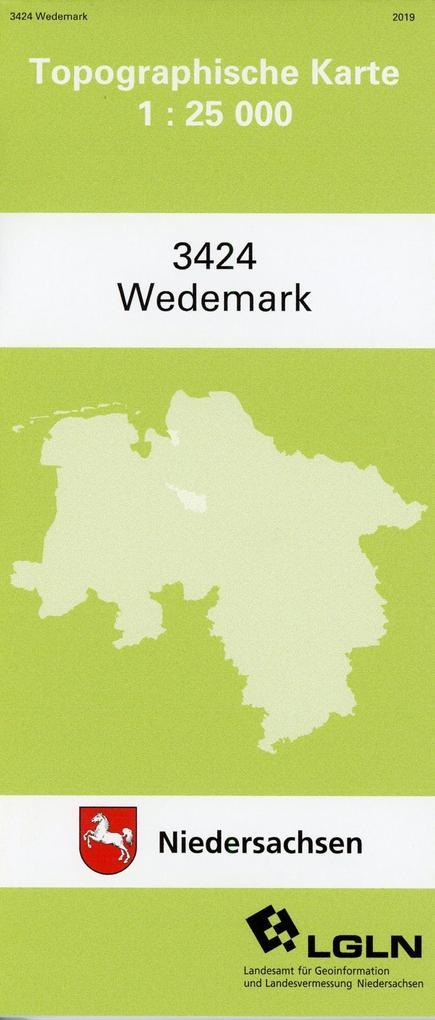 Wedemark 1 : 25 000. (TK 3424/N) als Blätter und Karten