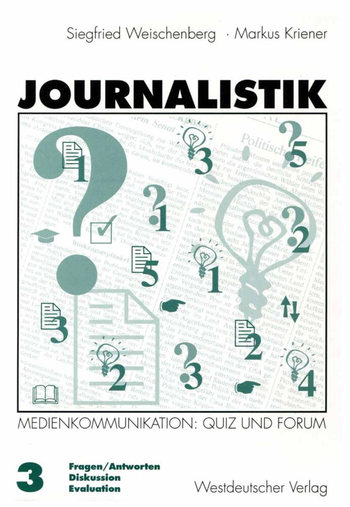 Journalistik 3 als Buch (kartoniert)
