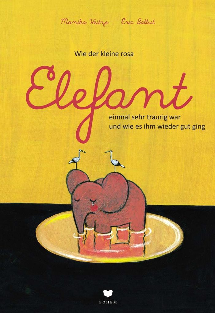 Wie der kleine rosa Elefant einmal sehr traurig war und wie es ihm wieder gut ging als Buch (kartoniert)