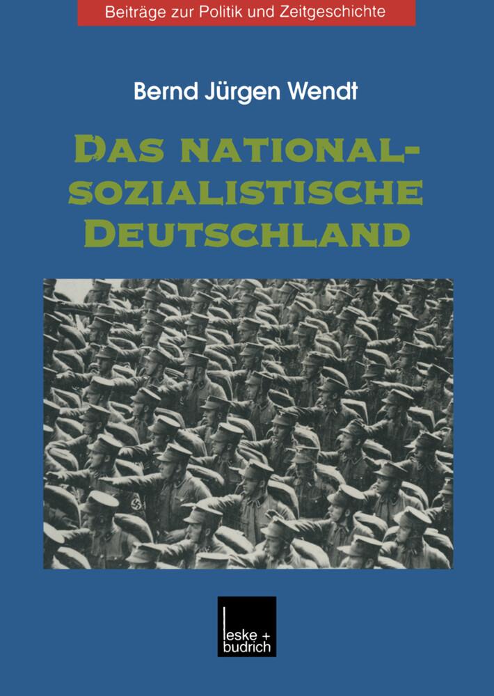 Das nationalsozialistische Deutschland als Buch (kartoniert)