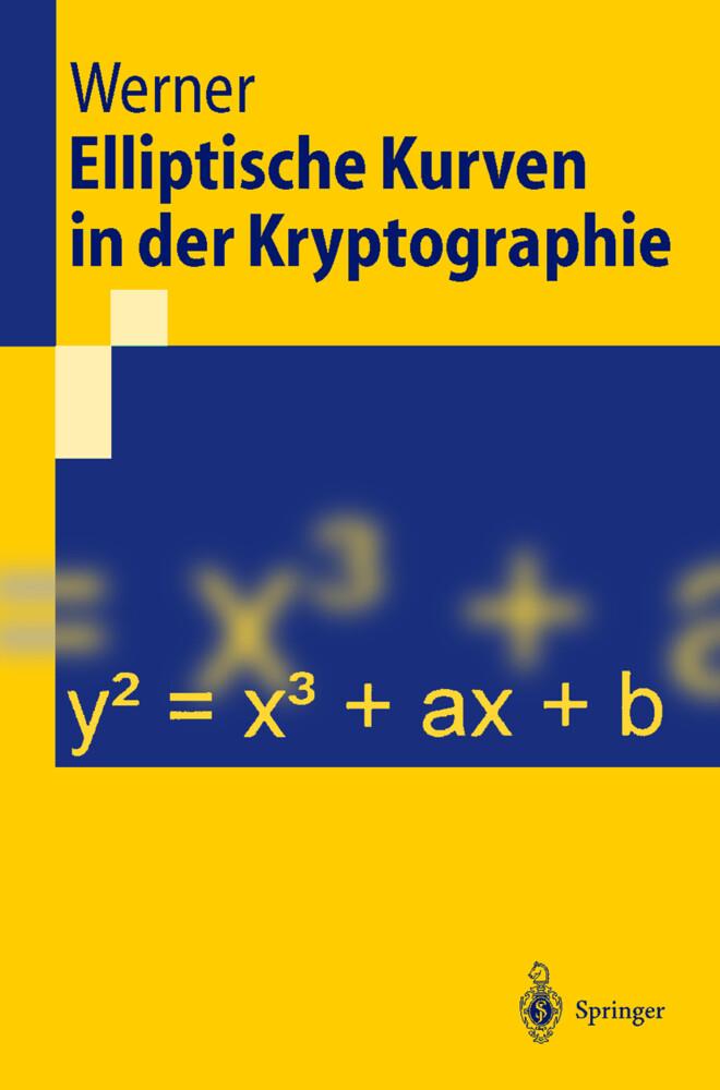 Elliptische Kurven in der Kryptographie als Buch (kartoniert)