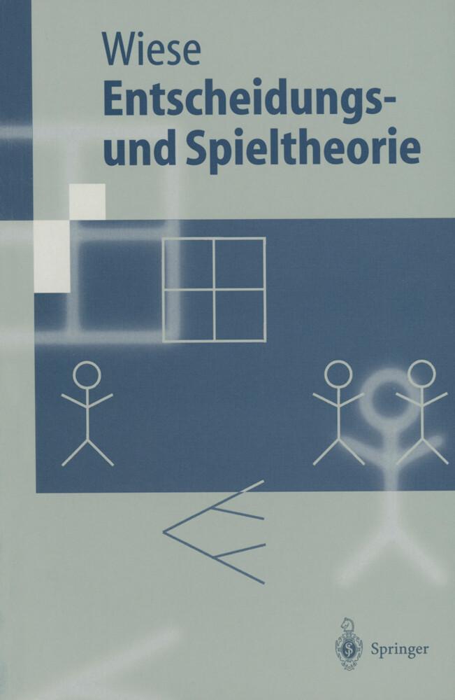 Entscheidungs- und Spieltheorie als Buch (kartoniert)