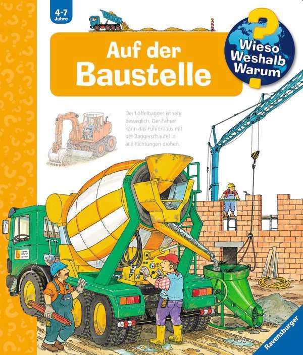 Auf der Baustelle als Buch (kartoniert)