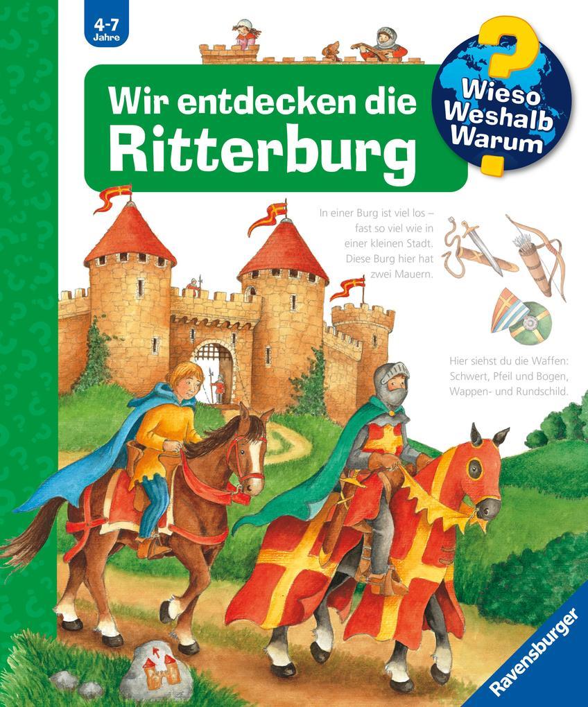 Wir entdecken die Ritterburg als Buch (kartoniert)