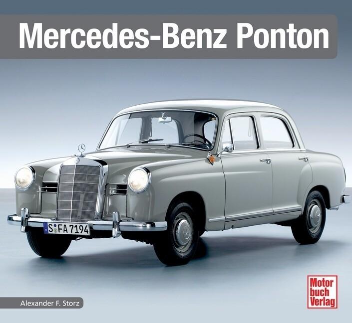 Mercedes-Benz Ponton als Buch (gebunden)