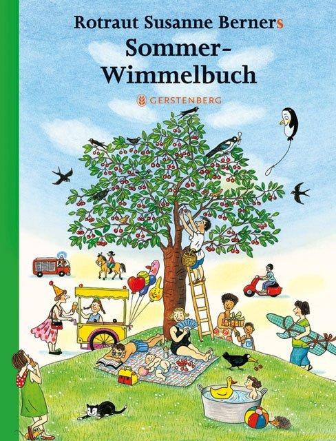 Sommer-Wimmelbuch als Buch (kartoniert)
