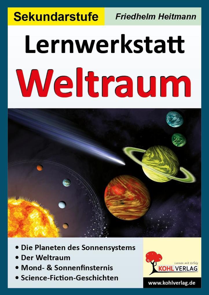 Lernwerkstatt Der Weltraum als Buch (kartoniert)