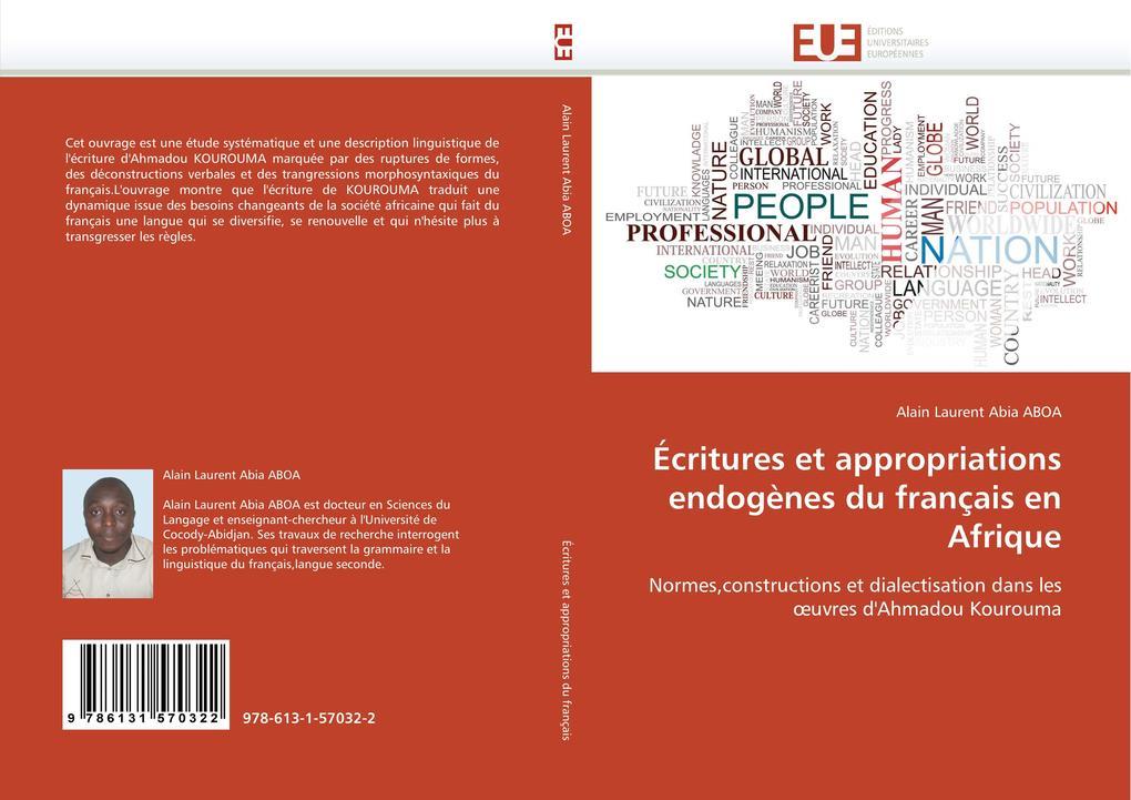 Écritures Et Appropriations Endogènes Du Français En Afrique als Taschenbuch