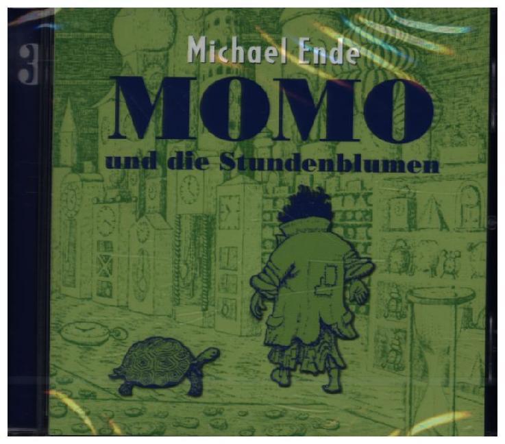 Momo 3 und die Stundenblumen. CD als Hörbuch CD