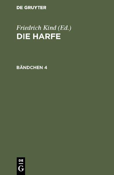 Die Harfe. Bändchen 4 als Buch (gebunden)