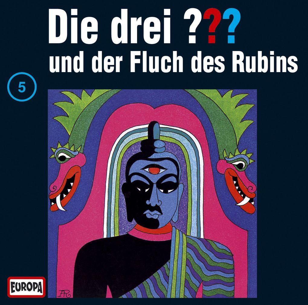 Die drei ??? 005 und der Fluch des Rubins (drei Fragezeichen). CD als CD