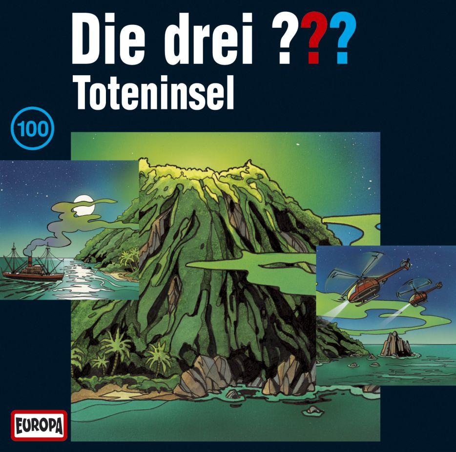 Die drei ??? 100. Toteninsel (drei Fragezeichen) 3 CDs als CD