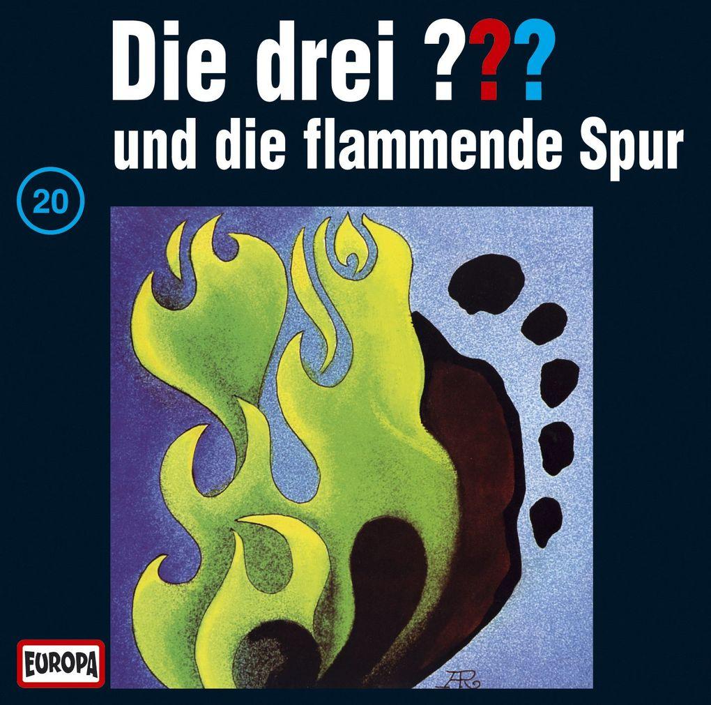 Die drei ??? 020 und die flammende Spur (drei Fragezeichen) CD als CD