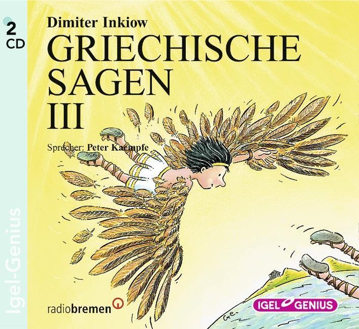 Griechische Sagen 3. 2 CDs als Hörbuch CD