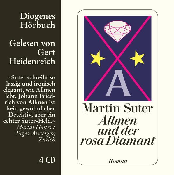 Allmen und der rosa Diamant als Hörbuch CD