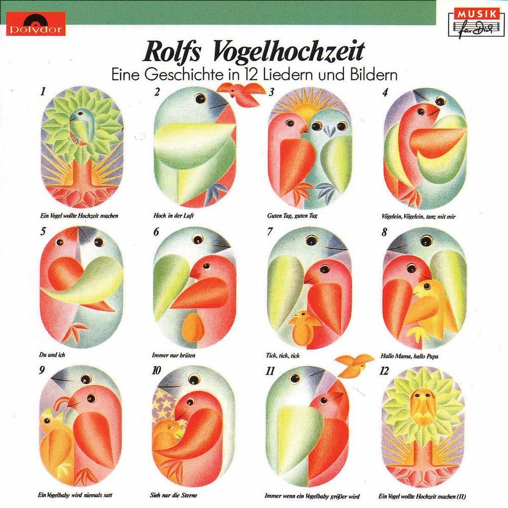 Rolfs Vogelhochzeit. CD als CD