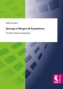 Synergy in Mergers & Acquisitions als Buch (kartoniert)