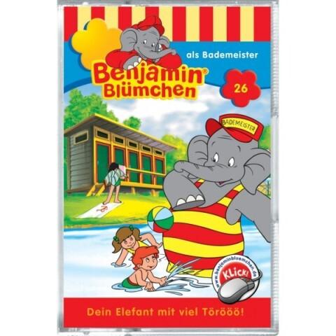 Benjamin Blümchen als Bademeister, 1 Cassette als Kassette