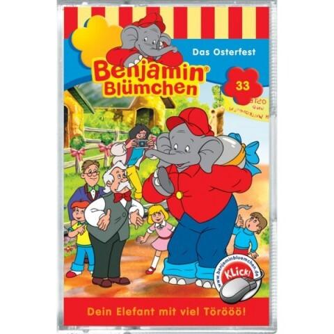 Benjamin Blümchen - Das Osterfest, 1 Cassette als Kassette