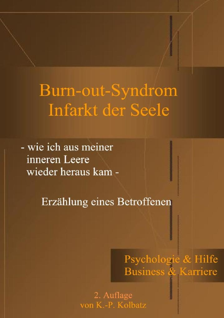 Burn-out-Syndrom als eBook epub