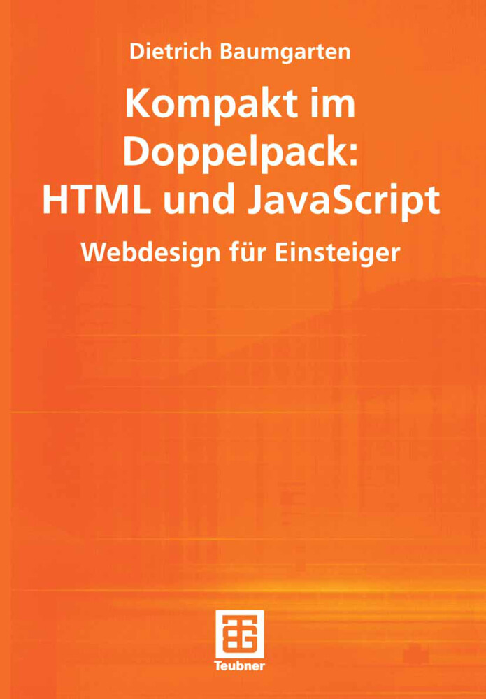 Kompakt im Doppelpack: HTML und JavaScript als Buch (kartoniert)