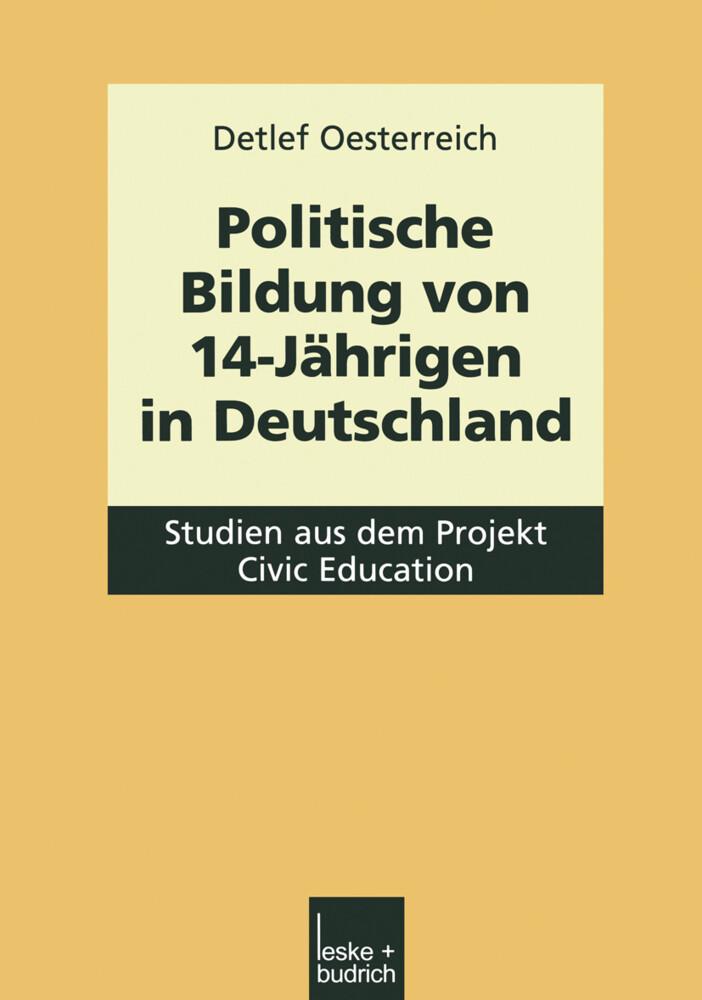 Politische Bildung von 14-Jährigen in Deutschland als Buch (kartoniert)