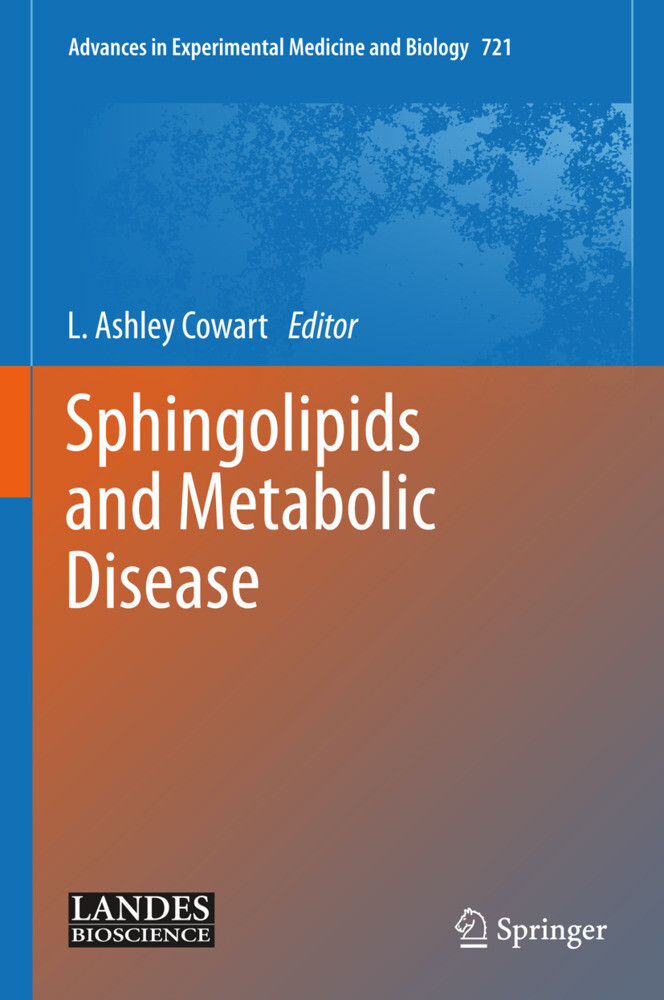 Sphingolipids and Metabolic Disease als Buch (gebunden)