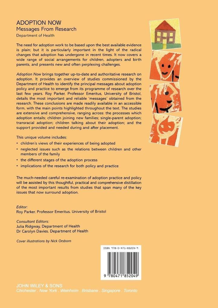 Adoption Now als Buch (kartoniert)