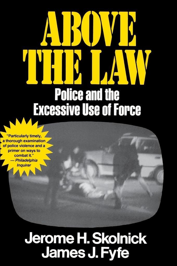 Above the Law als Taschenbuch