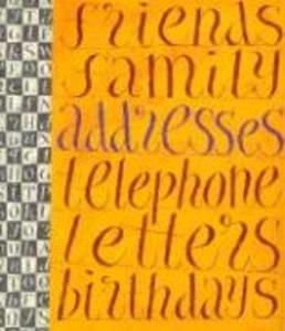 Literary Address Book als Sonstiger Artikel