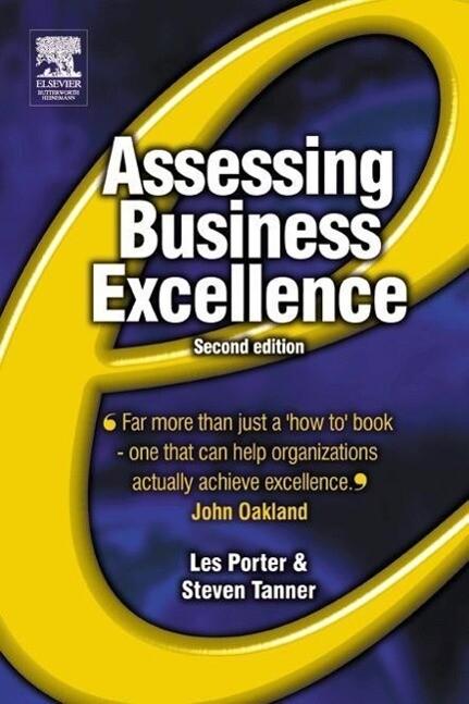 Assessing Business Excellence als Buch (kartoniert)