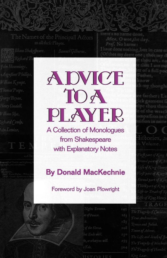 Advice to a Player als Taschenbuch