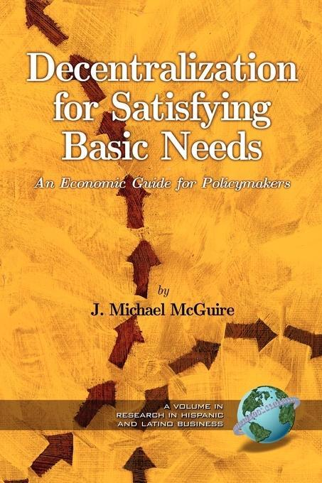 Decentralization for Satisfying Basic Needs - 1st Edition als eBook epub