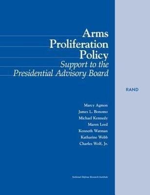 Arms Proliferation Policy als Taschenbuch