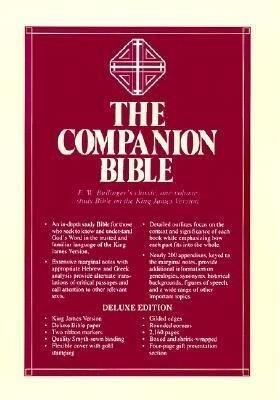Companion Bible-KJV als Buch (Ledereinband)